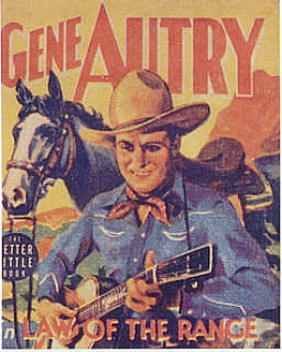 Gene Autry - Law Of The Range