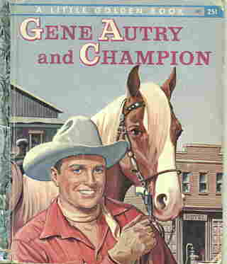 Gene Auyry and Champion